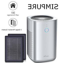 Air Purifiers True HEPA Filter Cleaners for Home Smoke Aller