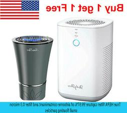 H13 HEPA Air Purifiers - Smoke Air Cleaners for Home with Fr
