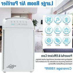 Large Room Air Purifiers 5 Stage H13 True HEPA Filter Air Cl