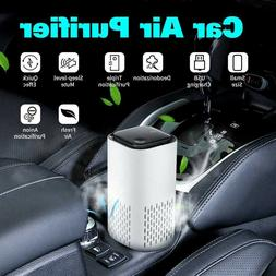 led air purifier with true hepa filter