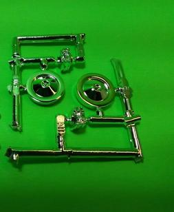 Lot of 2 chrome air cleaners carbs 1967 Chevelle SS pro stre